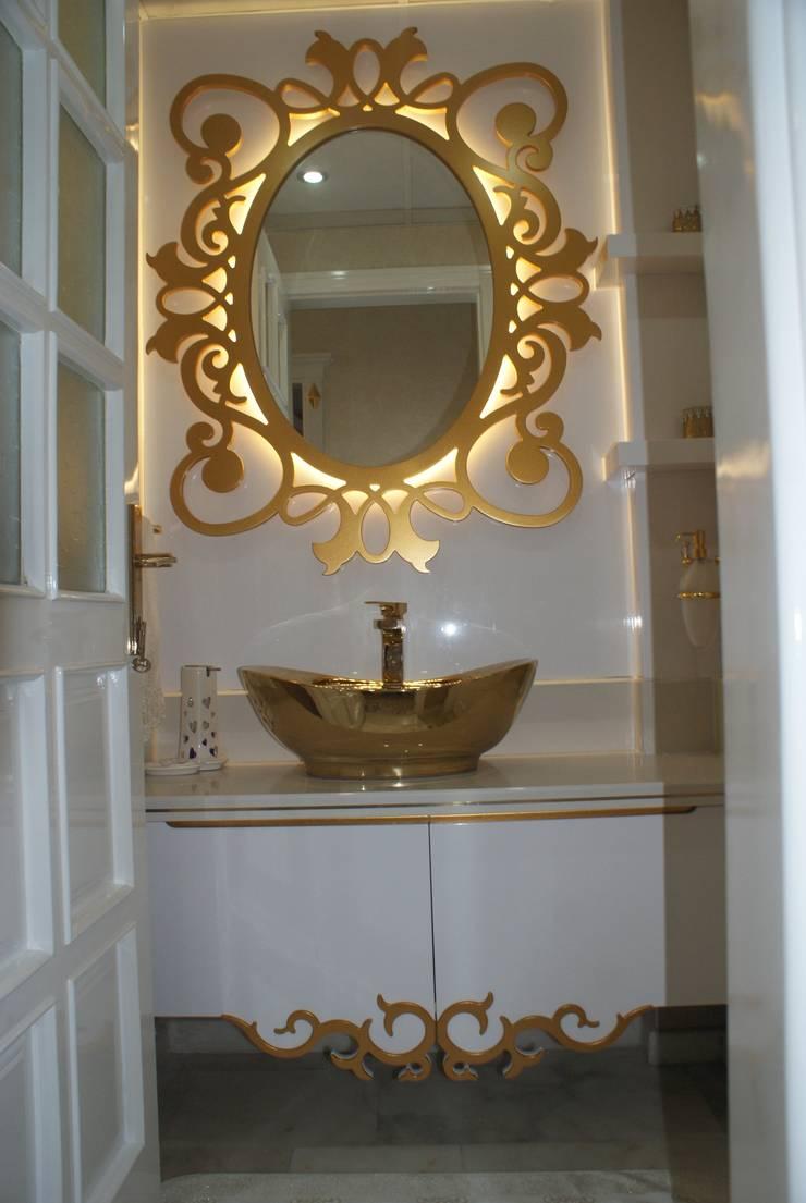 ecemutfak dekorasyon nazmi ece – WC HİLTON:  tarz Banyo