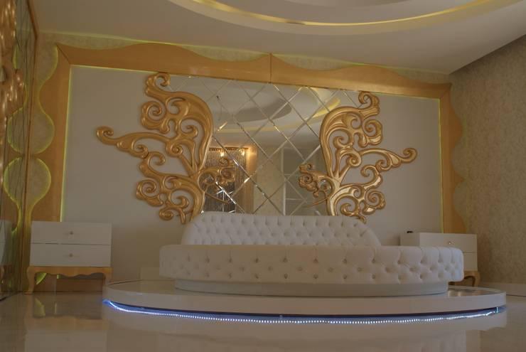 ecemutfak dekorasyon nazmi ece – GAZİANTEP 6+4 MODERN:  tarz Yatak Odası