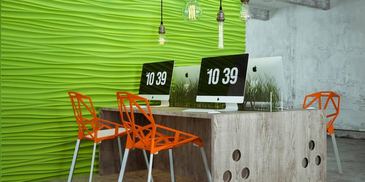 Green office: Офисы и магазины в . Автор – PRO-DESIGN