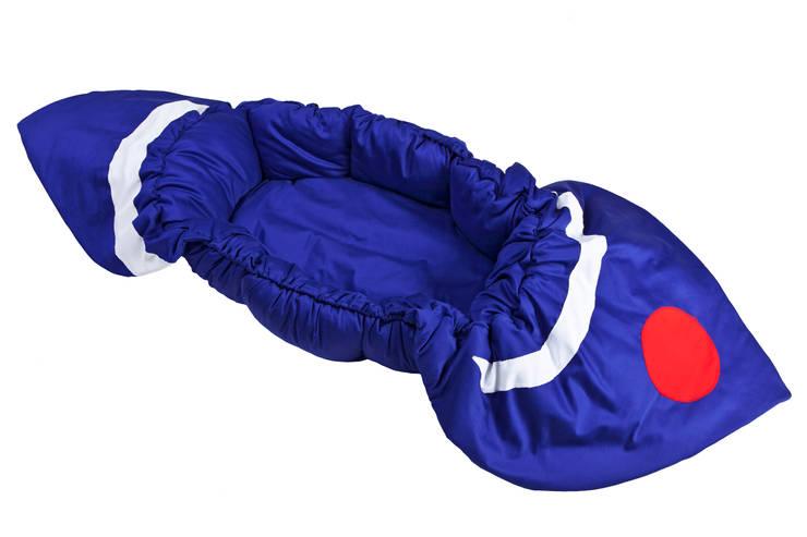 gniazda Igolo łódka: styl , w kategorii Pokój dziecięcy zaprojektowany przez Orangeria / Igolo