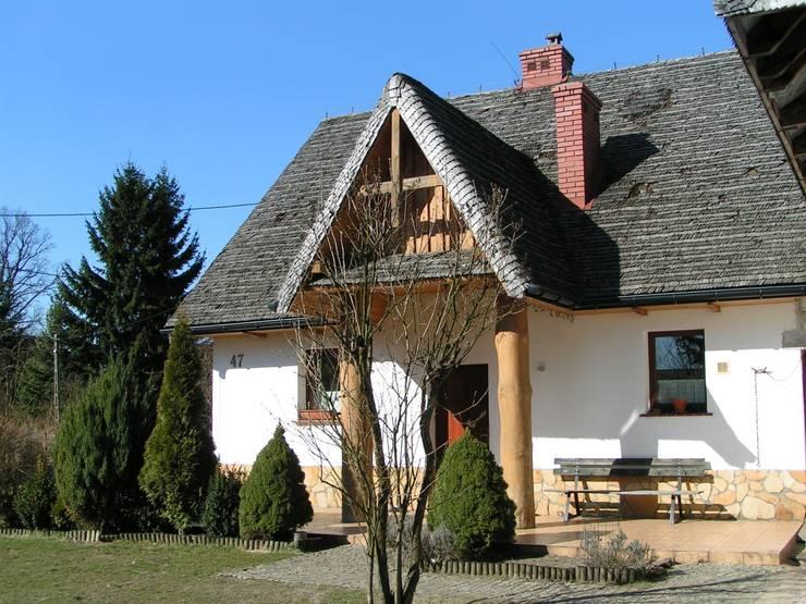 Dom po przebudowie: styl , w kategorii  zaprojektowany przez Nowak i Nowak Architekci