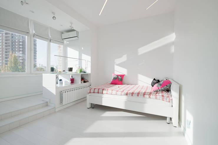 Квартира на Мосфильме: Детские комнаты в . Автор – Kerimov Architects