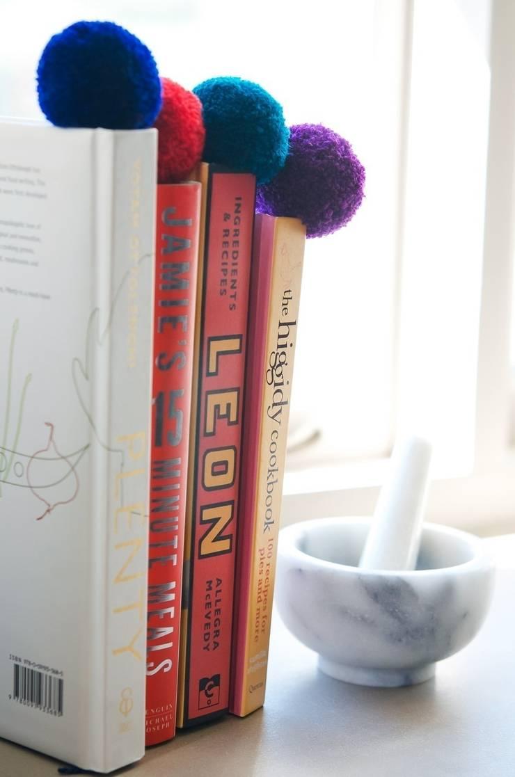 Pom Pom Book Marks :  Study/office by PomPom Galore