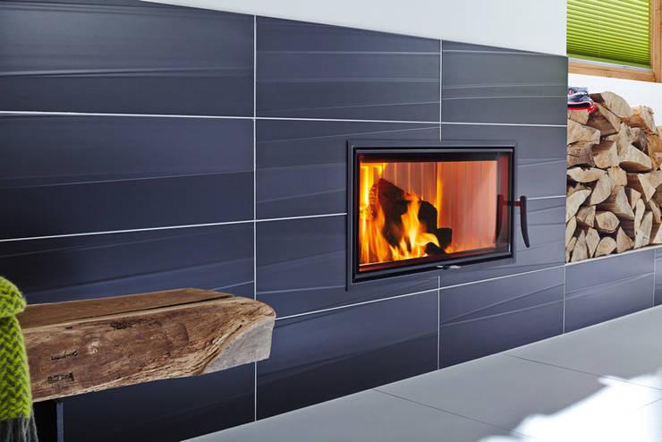 Brennzellen für raumluftunabhängigen Betrieb:  Küche von Spartherm Feuerungstechnik GmbH,Modern