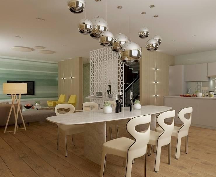 STRIPES: Столовые комнаты в . Автор – Design by Ladurko Olga