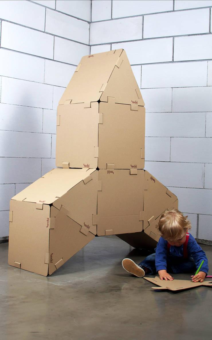 HOCKOklocki: styl , w kategorii Pokój dziecięcy zaprojektowany przez HOCKO