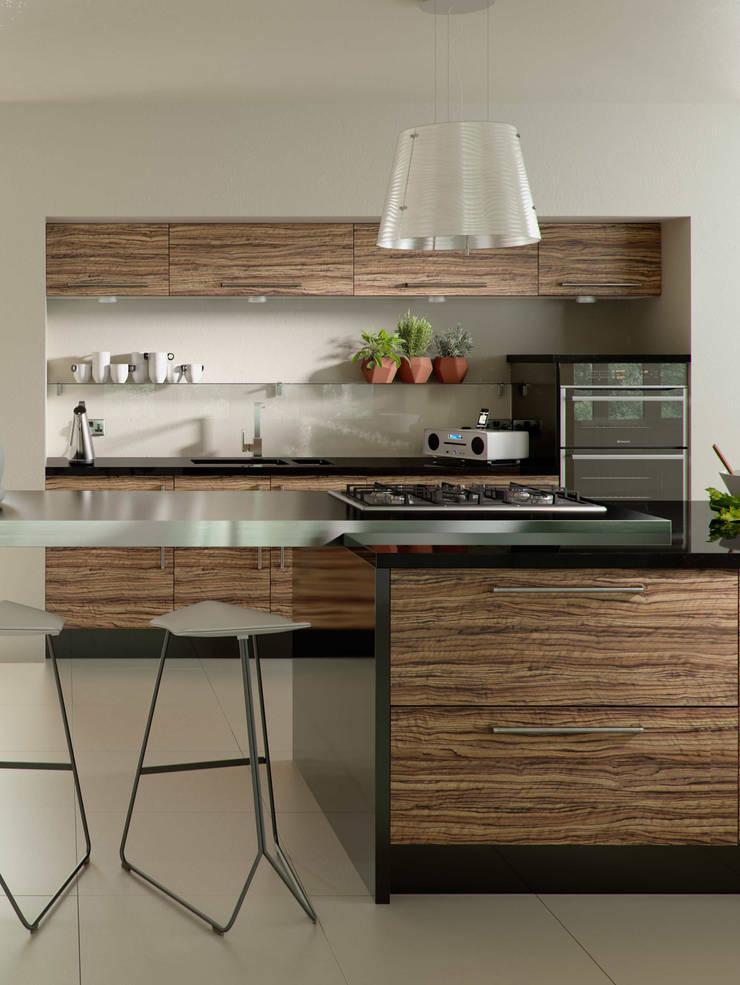 DM Design Olivewood Door Range :  Kitchen by DM Design