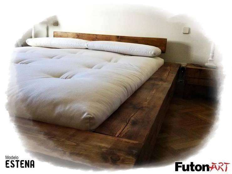 ESTENA: Dormitorios de estilo  de FUTONART