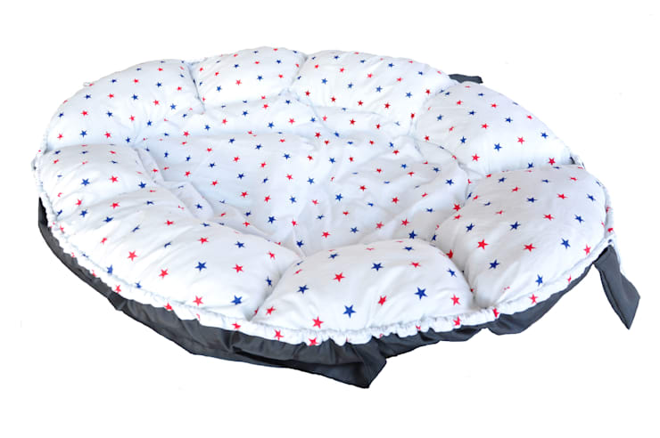 małe gniazda - kokony : styl , w kategorii Pokój dziecięcy zaprojektowany przez Orangeria / Igolo