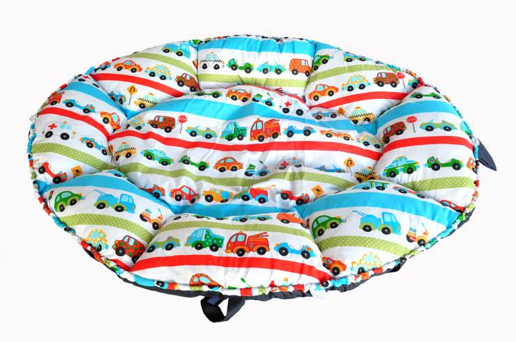 małe gniazda - kokony: styl , w kategorii Pokój dziecięcy zaprojektowany przez Orangeria / Igolo