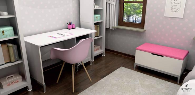 Nursery/kid's room by Artenova Design