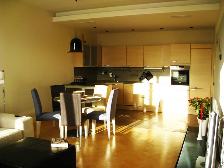 Квартира по финским лекалам: Кухни в . Автор – Format A5 Fontanka