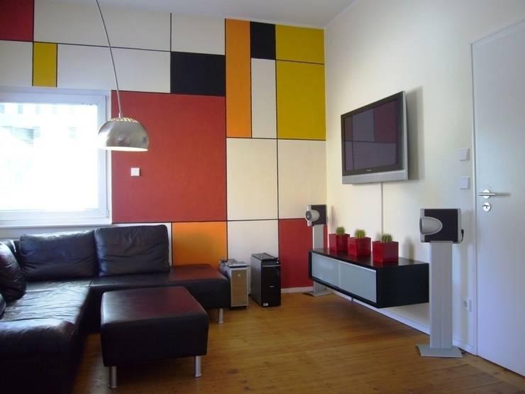 Wohnraum:  Wohnzimmer von ketterer innenarchitektur