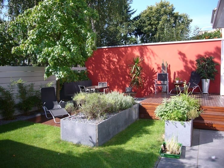 Garten: moderner Garten von ketterer innenarchitektur