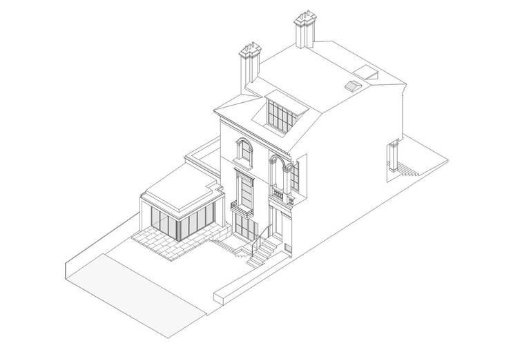 Canonbury House - 6:   by Jonathan Clark Architects