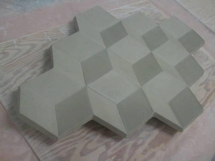 Golden Rhombus:  Kunst  door Barst! Keramiek