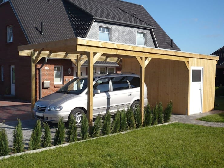 Carport Texas:  Garages/schuren door HMG Benelux