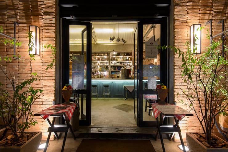 Entrada.: Espaços gastronômicos  por Arquitetura Juliana Fabrizzi