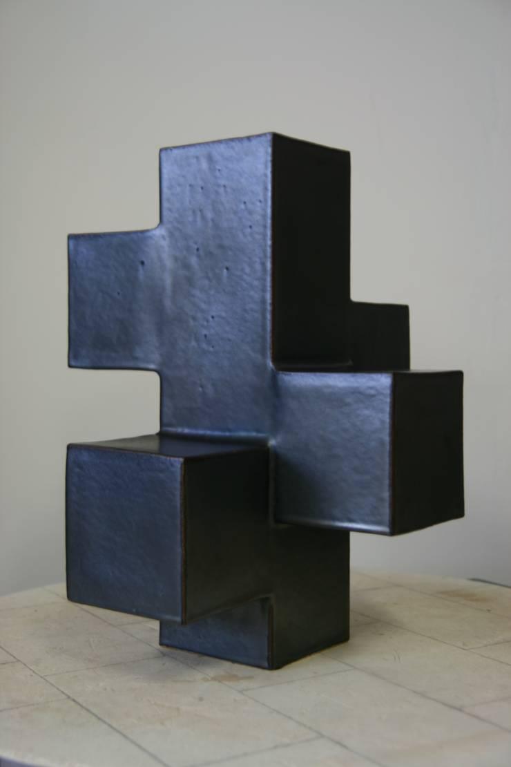 Blokvaas:  Kunst  door Barst! Keramiek
