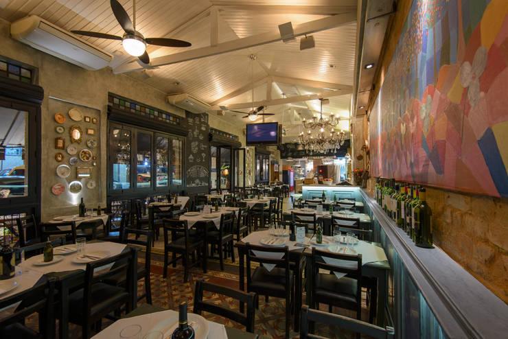 perspectiva geral: Espaços gastronômicos  por Arquitetura Juliana Fabrizzi