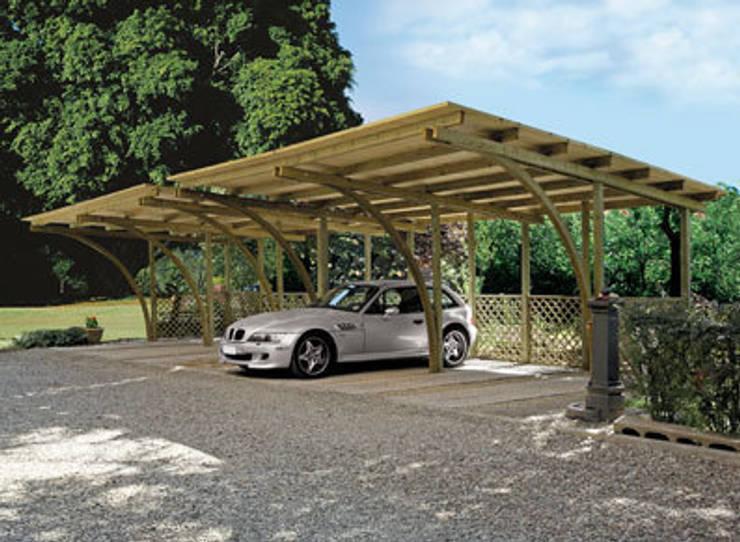 Гаражи в . Автор – FRANCE ABRIS : Spécialiste  abri de jardin, garage, carport