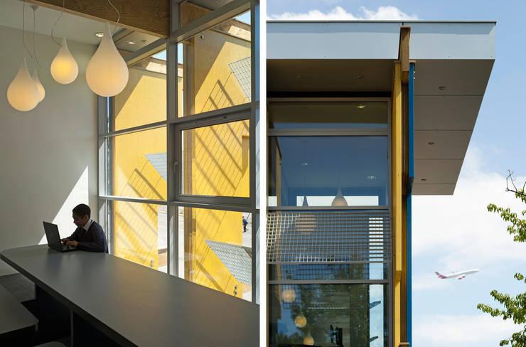 Longford Community School - New Library - 5:  Schools by Jonathan Clark Architects