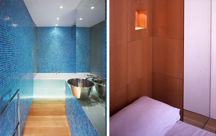 Little Venice Apartment - 3:  Bathroom by Jonathan Clark Architects