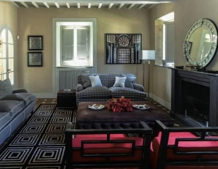 Casa Nuova: Soggiorno in stile  di Studio Mazzei Architetti