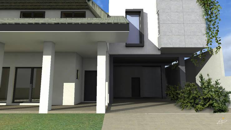 Residência L + V: Casas  por eduardopetry