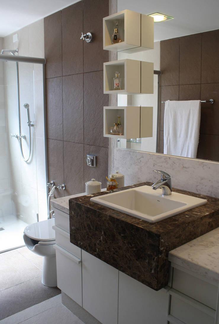 Banheiro: Banheiros  por Graf Arquitetura & Interiores