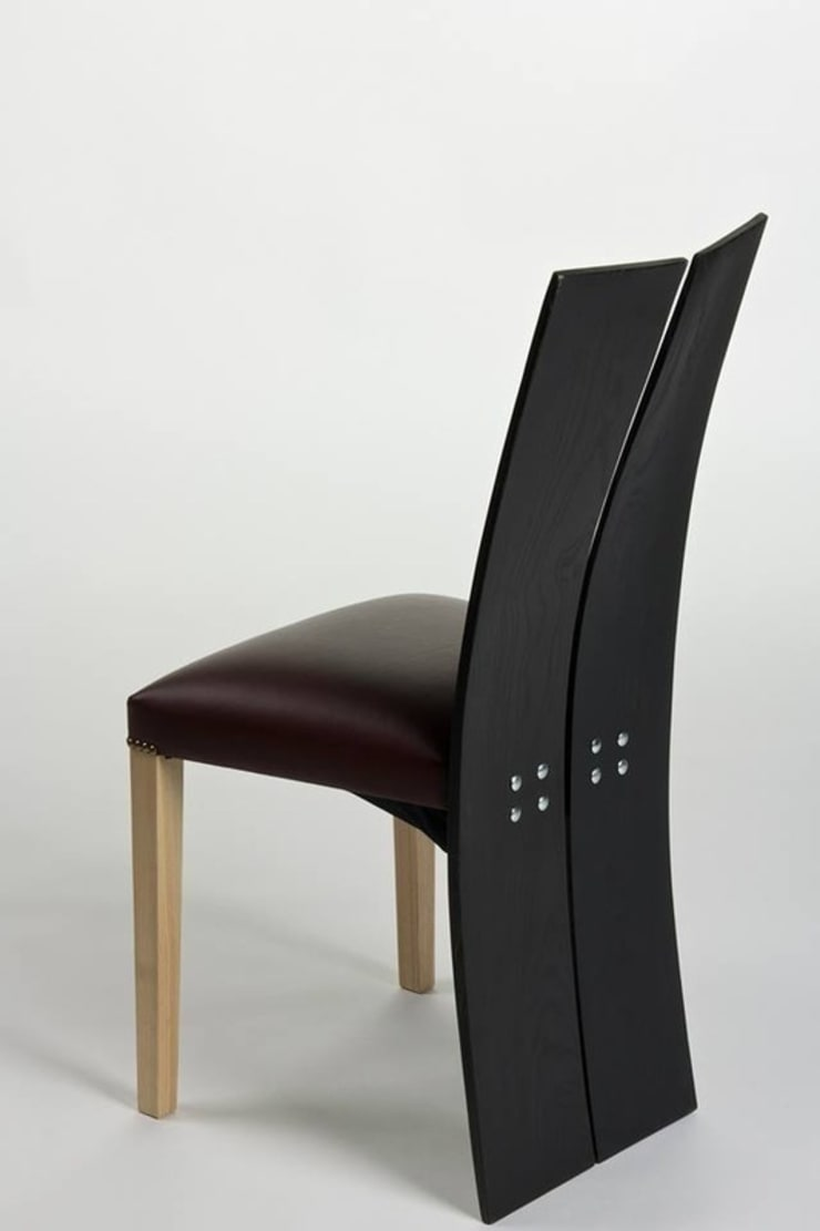 Monks Chair:  Dining room by Brocklehurst Furniture