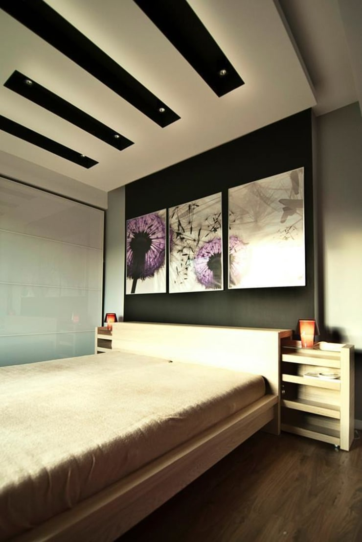 Dom Solskiego Myślenice: styl , w kategorii Sypialnia zaprojektowany przez Novi art