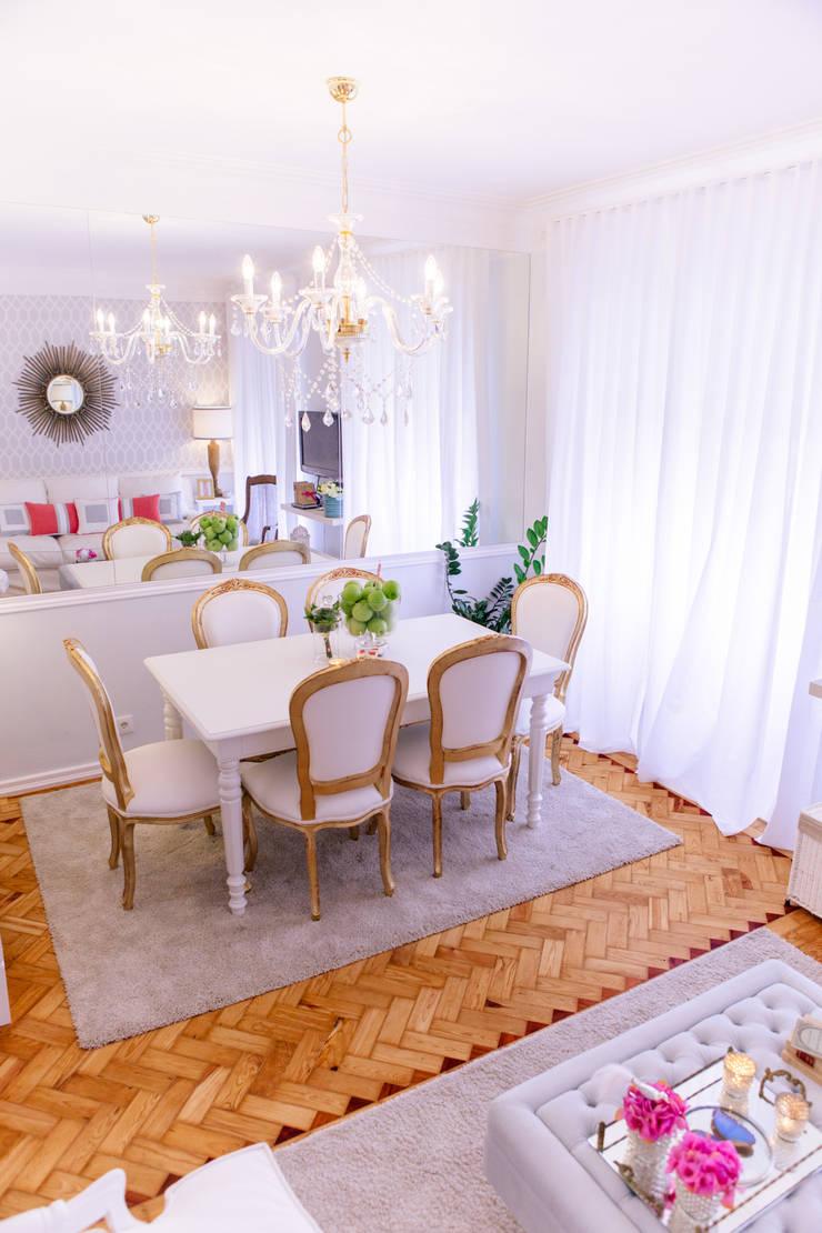 Amoreiras House: Salas de estar  por Catarina Batista Studio