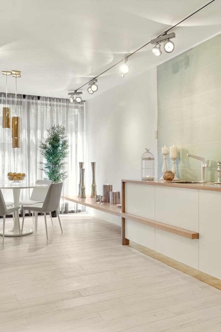 Dapur built in oleh Catarina Batista Studio, Modern Keramik