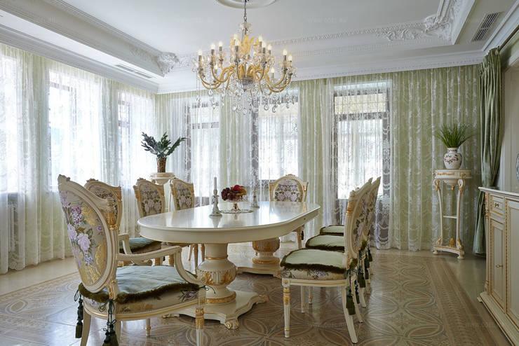 Столовая: Столовые комнаты в . Автор – ODEL, Классический
