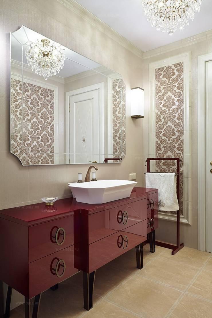 Санузел: Ванные комнаты в . Автор – ODEL