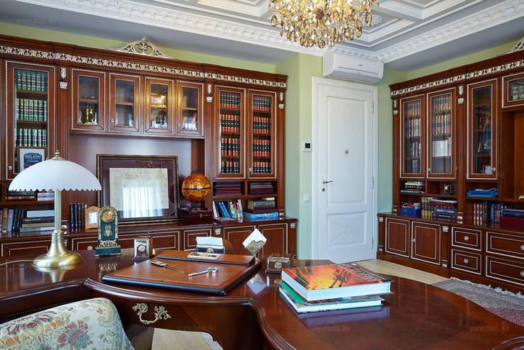 Кабинет: Рабочие кабинеты в . Автор – ODEL, Классический