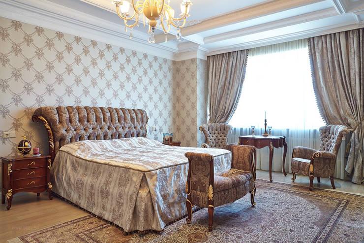 Спальная комната: Спальни в . Автор – ODEL