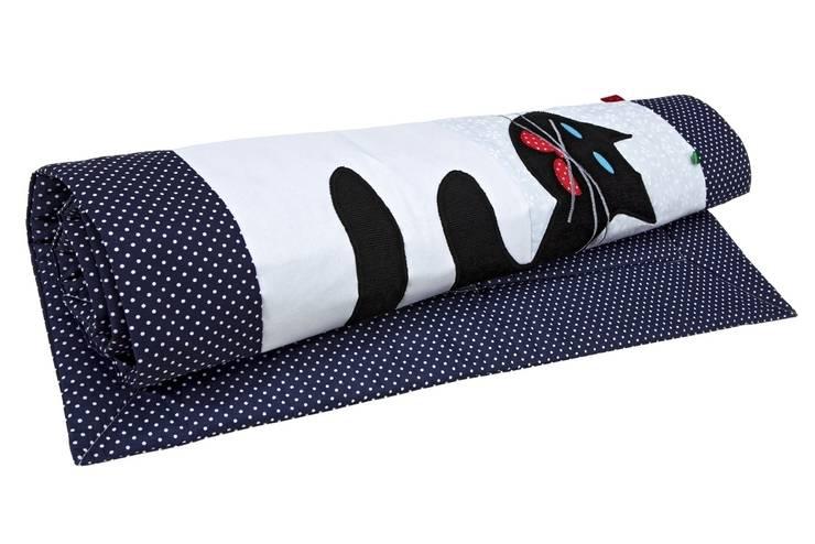 detale dywanika bawełnianego Igolo  z aplikacją kota: styl , w kategorii Ściany i podłogi zaprojektowany przez Orangeria / Igolo
