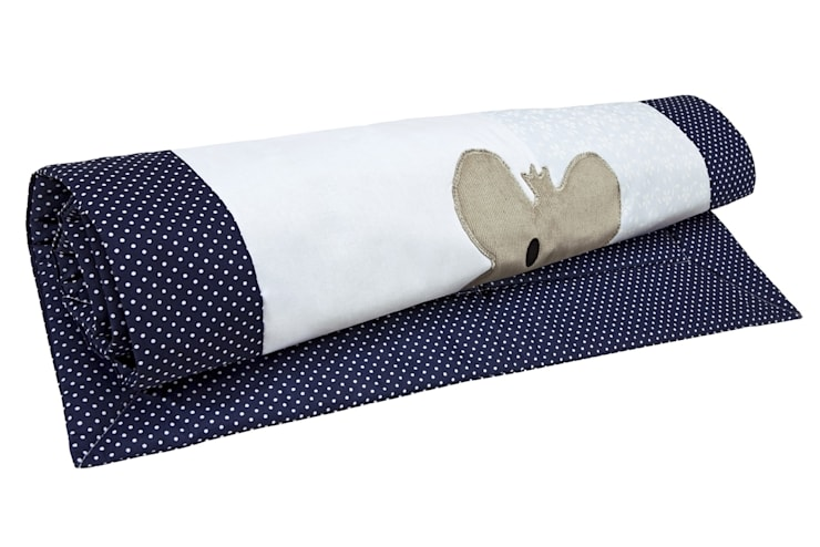 detale dywanika bawełnianego Igolo: styl , w kategorii Pokój dziecięcy zaprojektowany przez Orangeria / Igolo