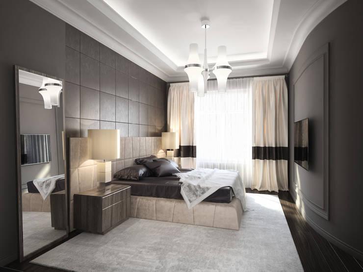 Dark Bedrooms: Спальни в . Автор – DenisBu