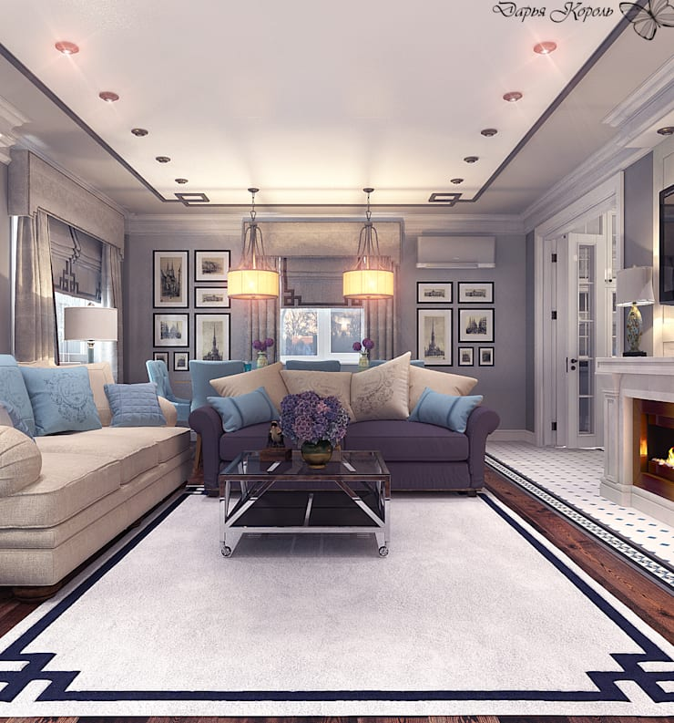 Classic style living room by Your royal design Classic