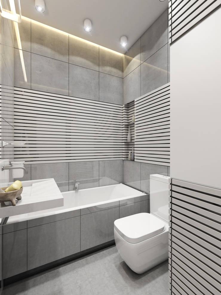 apartment of 35 sq.m.: Спальни в . Автор – Entalcev Konstantin