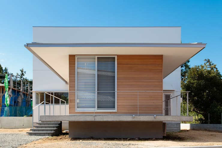 外観: 内田建築デザイン事務所が手掛けた家です。
