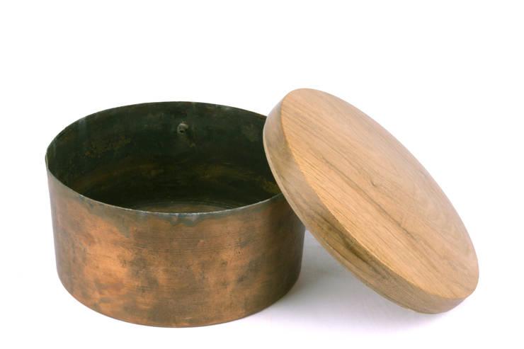 Found copper box:  Artwork by aimee bollu