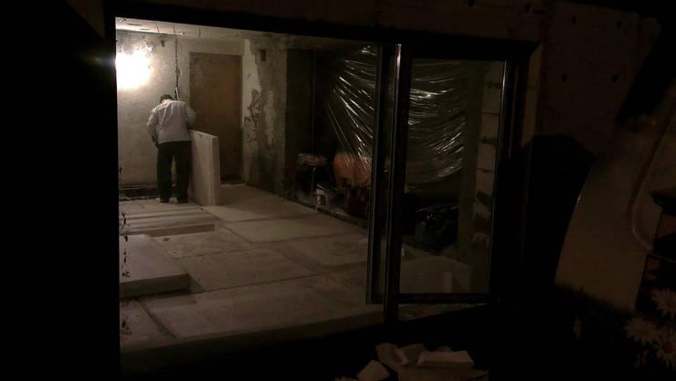 Kuchnia w garażu - Jaworzno - krok 4: styl , w kategorii  zaprojektowany przez Bednarski - Usługi Ogólnobudowlane
