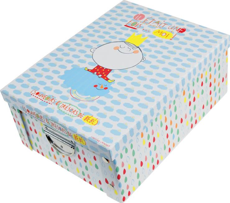 Boîte de rangement enfant - Collection Léo & Lulu: Chambre d'enfants de style  par Incidence