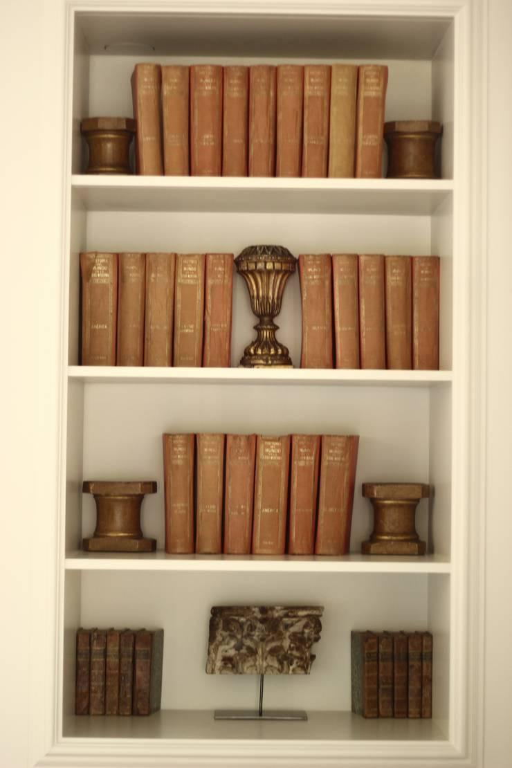biblioteca libros antiguos : Salones de estilo  de La Californie