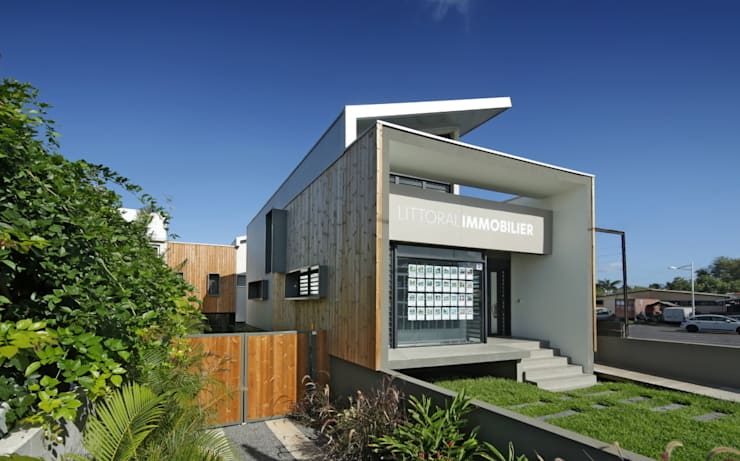 Projekty, egzotyczne Domy zaprojektowane przez T&T architecture
