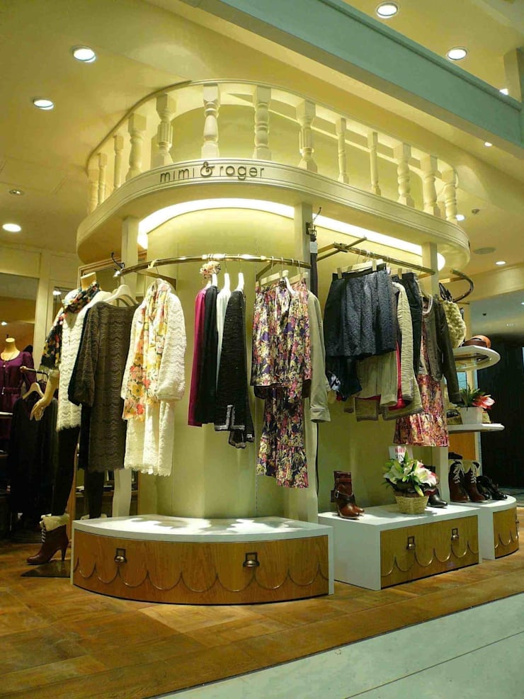 小さな店: sorama me Inc.が手掛けたオフィススペース&店です。,オリジナル